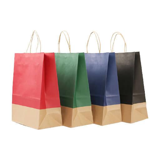 Colorful printing paper bag