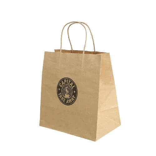 Paper bag with logo printing
