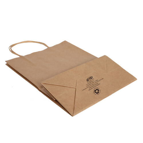 twisted handles paper bag