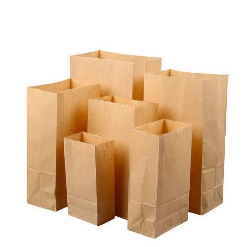 Paper bag for popcorn