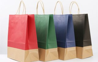 Paper bag types and sizes