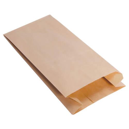 Pinch bottom paper bag